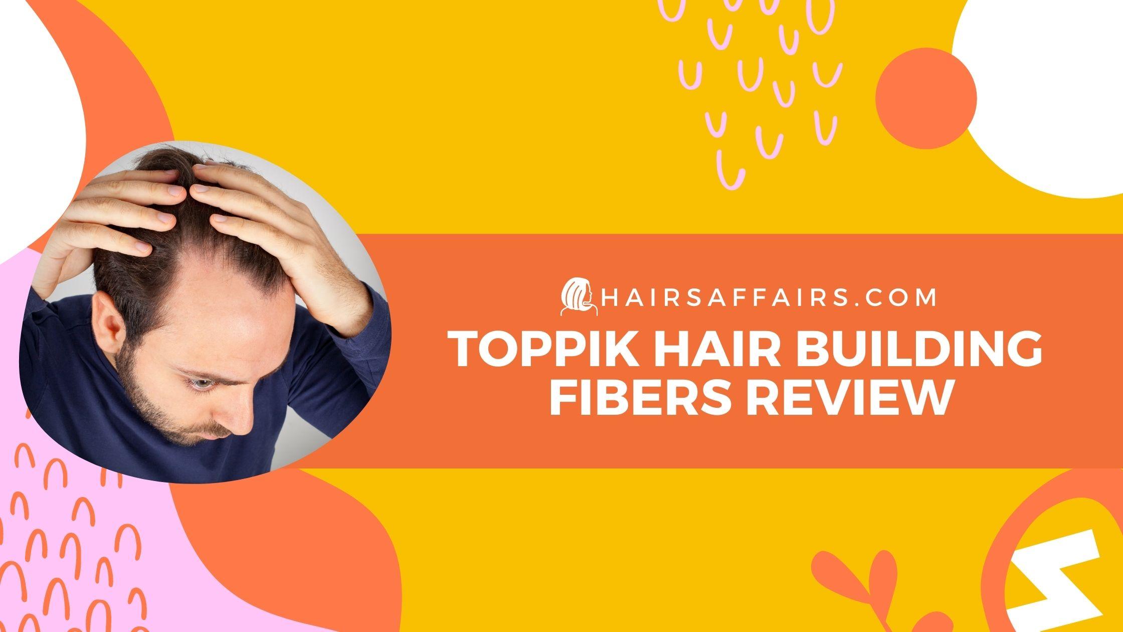 toppik hair building fibers review